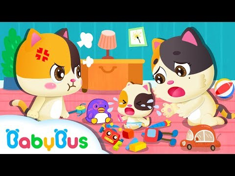 Kitten Mimi Wants Mommy's Love too | Baby Kitten Family | Kitten Song | Song for Kids | BabyBus