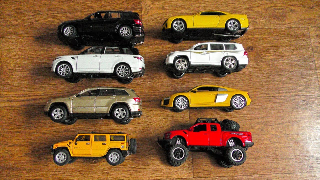 Big Size SUVs and Sports Cars (Model Cars)