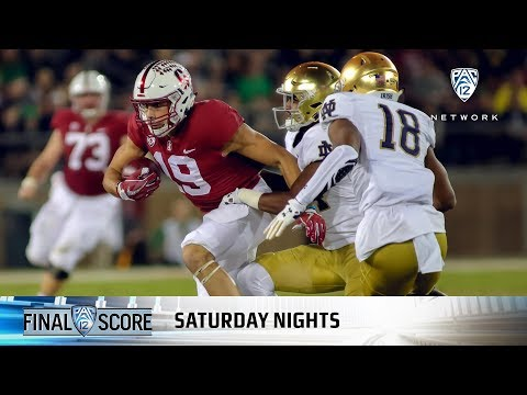 Highlights: Stanford football overpowers Notre Dame in top-25 regular-season finale