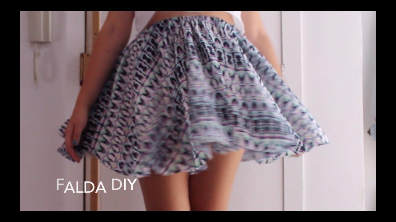 c8e1705fe5 Falda con mucho vuelo (DIY) - Cloudlet - YouTube