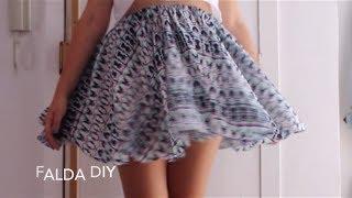 Falda con mucho vuelo (DIY) - Cloudlet
