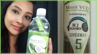 Giveaway |  Merit VCO Extra Virgin Coconut Oil Review | 5 winners