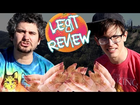 LEGIT FOOD REVIEW - Pig Feet (Ft. H3H3)