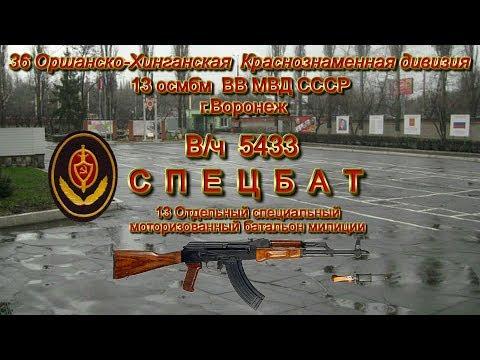 В/ч 5433 13 осмбм ВВ МВД СССР призывы 1978 1979 1980