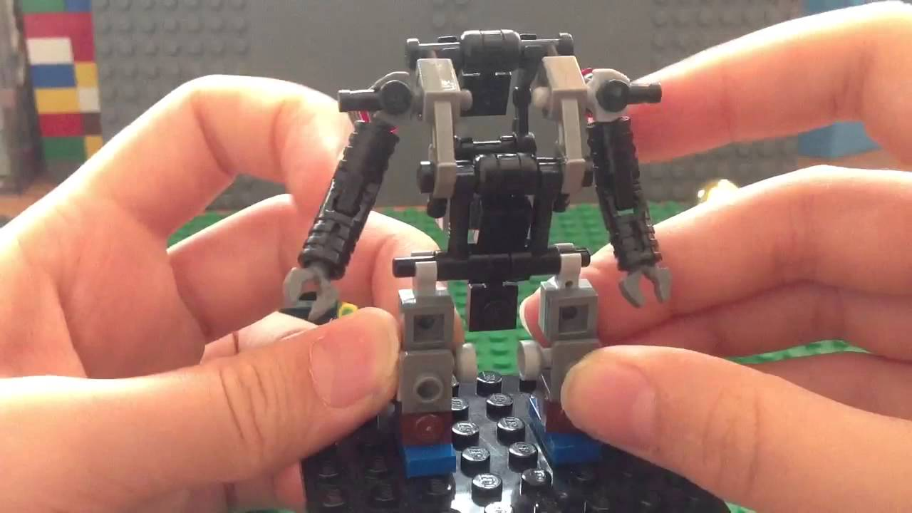 lego robot suit instructions