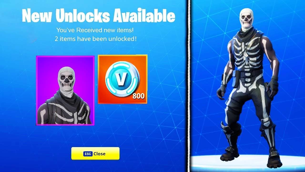 HOW TO GET THE SKULL TROOPER IN NEW FORTNITE UPDATE! - Fortnite Battle Royale Skull Trooper Unlocked