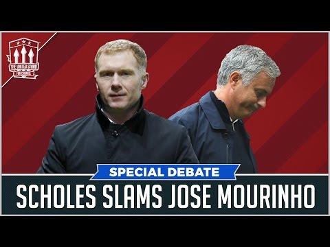 MANCHESTER UNITED NEWS SPECIAL   Scholes slams Mourinho