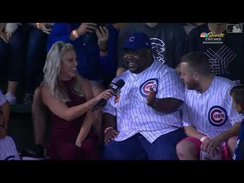 K.C. Wheeler - Crazy Hat Balancing Trick from a Cubs Fan