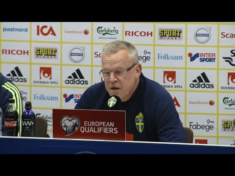 """Hela presskonferensen med Andersson och Granqvist: """"Har allt att vinna"""" - TV4 Sport"""