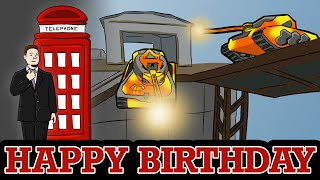 Happy Birthday Mia and Michael! | Tanki Online Speedart #5