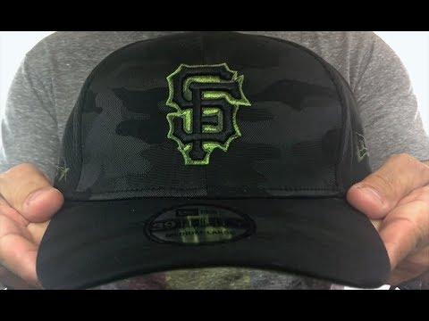 meet 6d89d d4f2f SF Giants 2018 MEMORIAL DAY  STARS N STRIPES FLEX  Hat by New Era