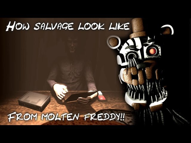 [FNAF/SFM] FNAF 6 Molten Freddy Salvage - view from animatronic