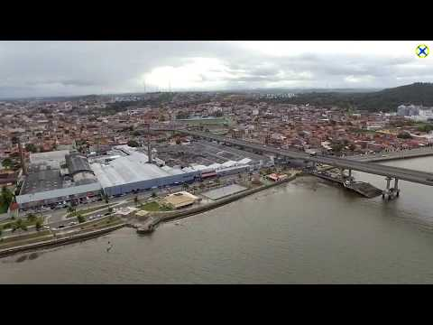 Voo na Orla do Bairro Industrial - Aracaju - Sergipe - Brasil - 15/08/2017
