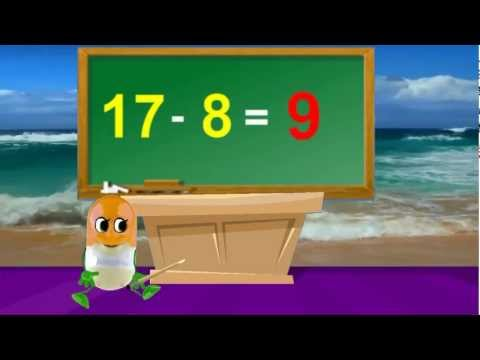 tutorial-math-|-how-to-subtract-8-|-kids-songs-with-lyrics