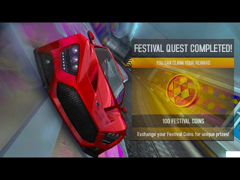 Asphalt 8, Wining 1820 Tokens In The Fast-Lane Festival