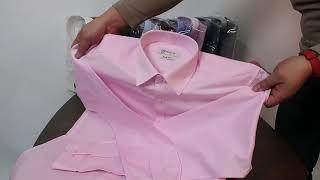 레디코 레디핏 슬림 데일리 분홍 핑크색 긴팔셔츠 RF1…