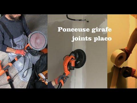 quand la ponceuse girafe se donne aux joints de placo - 0 - Quand la ponceuse girafe se donne aux joints de Placo