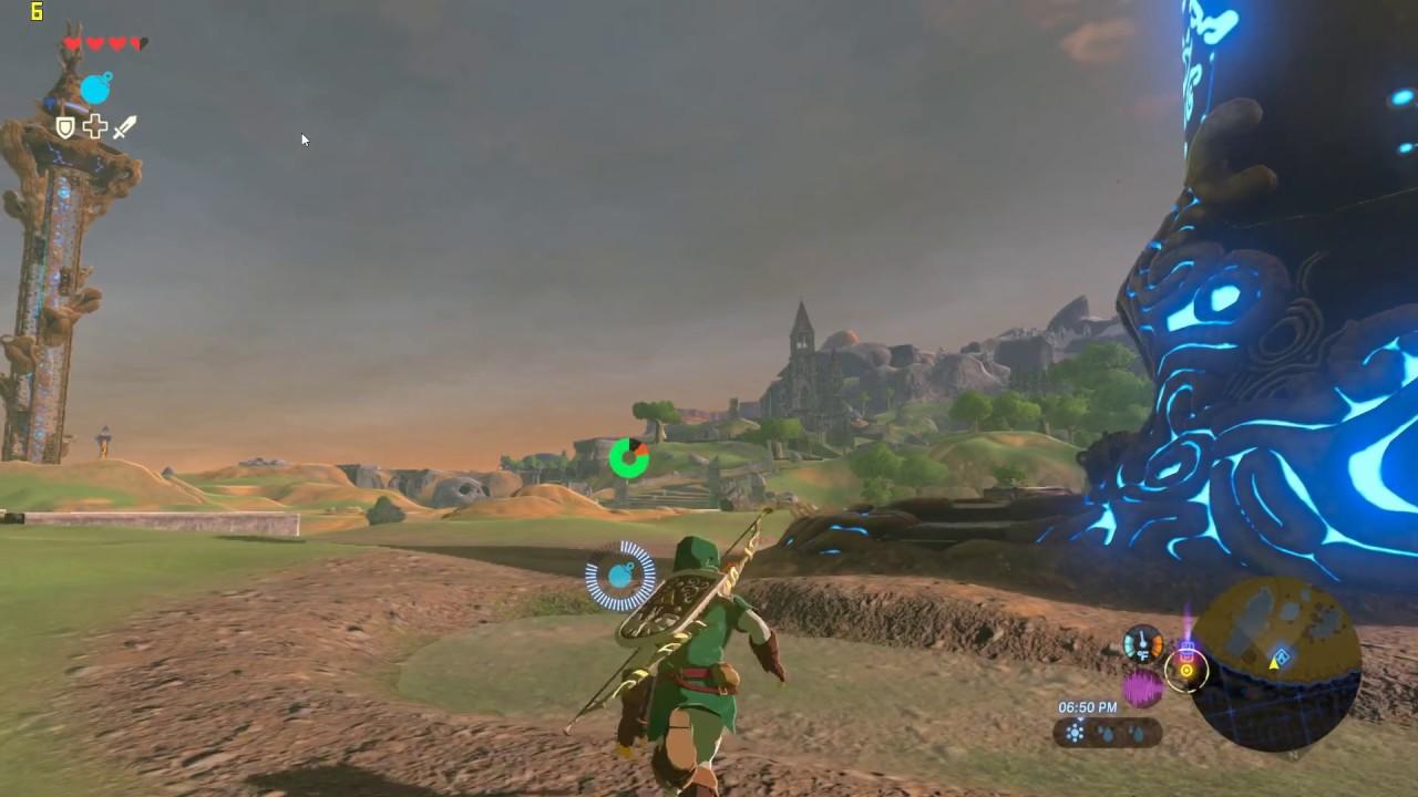 The Legend of Zelda: BOTW (1080p)[CEMU 1 7 3d][FX8350/GTX 1060 3gb]  Gameplay Performance Settings