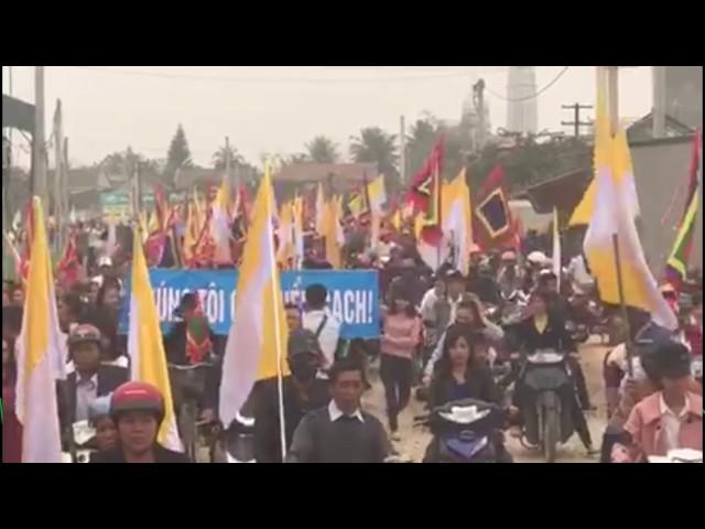 TIN NÓNG   Việt Nam tập trung biểu tình trên cả nước