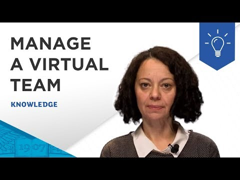 In 3 Minutes - How to Manage a Virtual Team