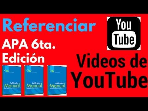 NORMAS APA PARTE 1 de YouTube · Duración:  14 minutos 21 segundos