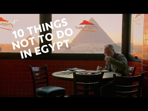 10 Things NOT to Do in Egypt