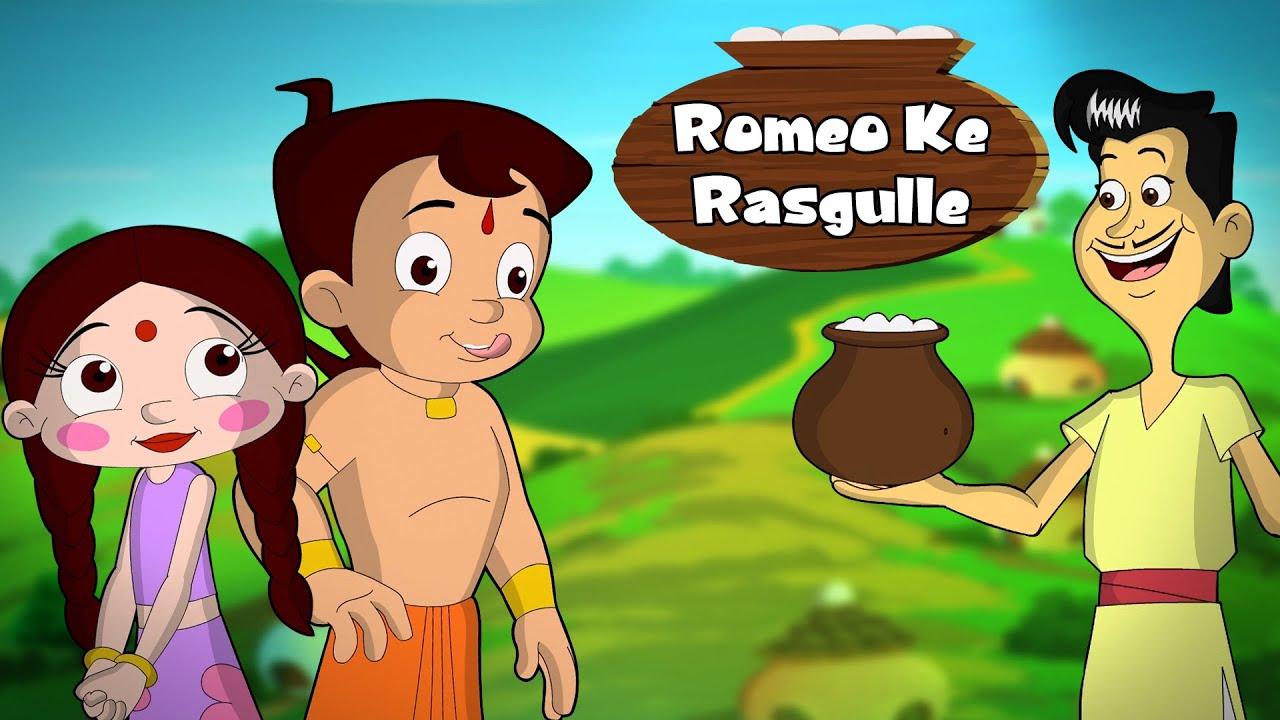 Download Chhota Bheem - Romeo Ke Rasgulle! | Cartoon for Kids in Hindi