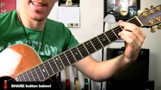 Our Song ★ Taylor Swift - Guitar Lesson - How To Play Easy Acoustic Songs Tutorial