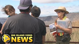 Hawaii Volcanoes Rangers Back To Work In Opened Park (Sept. 22, 2018)