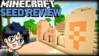 Minecraft 1.8 Harry Potter Seed: PYRAMID & NPC!!