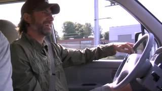 Stone Gossard of Pearl Jam & his Electric Car