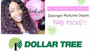 Dollar Tree   PERFUME (My Obsession Grows!!) DESIGNER DUPES FAB PICKS!! (2/5)