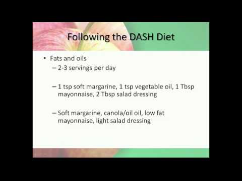 Healthy Heights:  The DASH Diet