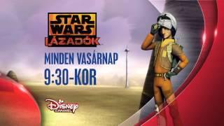 Új sorozat október 19-től minden vasárnap 9.30-kor a Disney Csatornán!