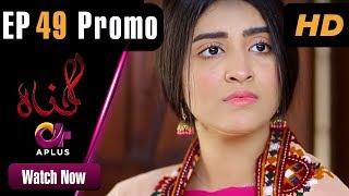 Gunnah - Episode 49 Promo | Aplus Dramas | Sara Elahi, Shamoon Abbasi, Asad Malik | Pakistani Drama