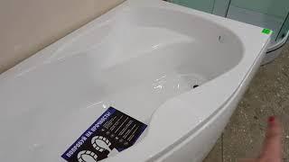 видео Угловые ванны: размеры, цены, фото