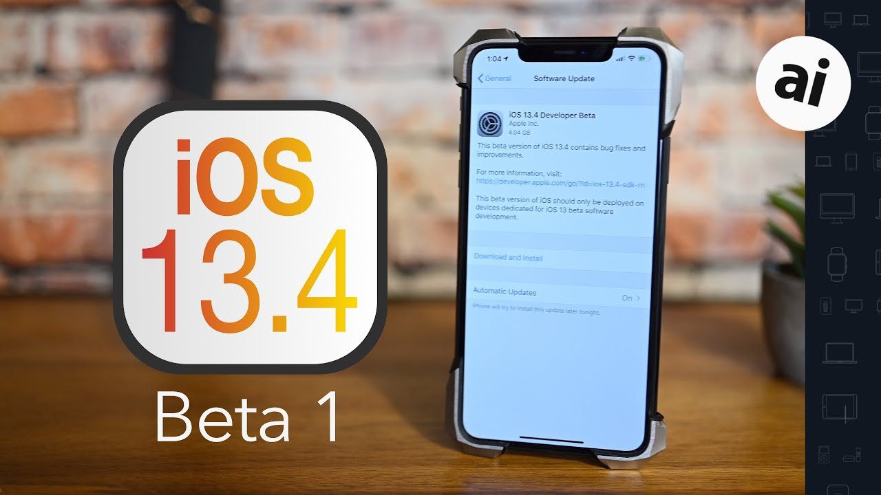 Everything new in iOS 13.4: CarKey, iCloud drive folder sharing, Memoji, & more!