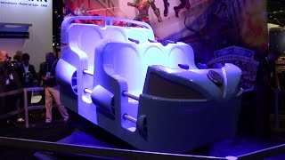 justice league six flags oceaneering iaapa 2014 press event