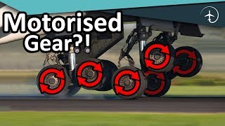 Why not make plane-tires spin, before landing?!