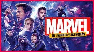 El Universo de Marvel en 1 Minuto y Así Nomás