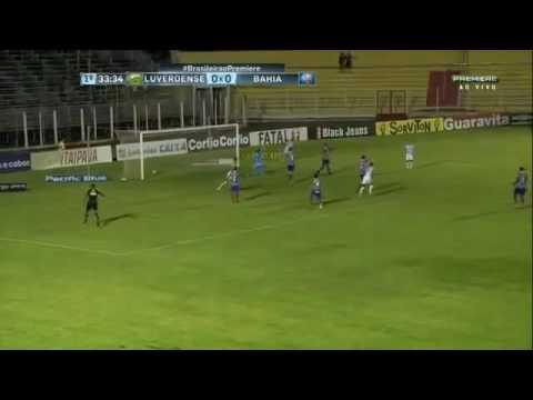 Gols Luverdense 2×2 Bahia Brasileirão Série B 2016
