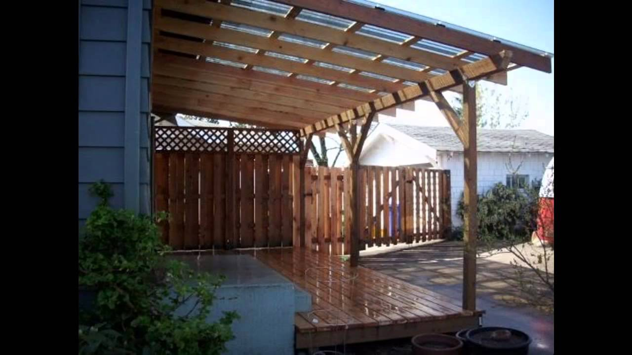 Covered patio ideas - Home Art Design Decorations - YouTube on Covered Patio Ideas id=21823
