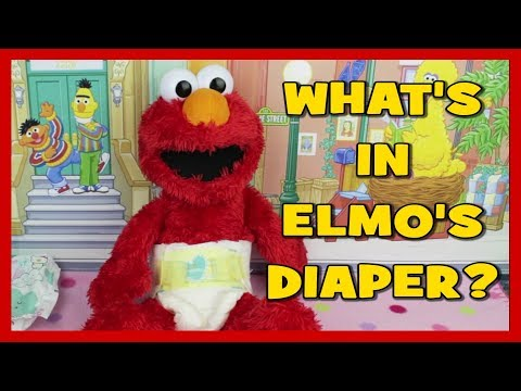 Owen changing Elmo's diaper | Doovi