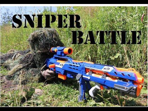 Nerf War: Sniper Battle