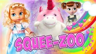 Cinderella and Anna Meet a Unicorn! With Fun New Jojo Siwa Toys!   Princess World