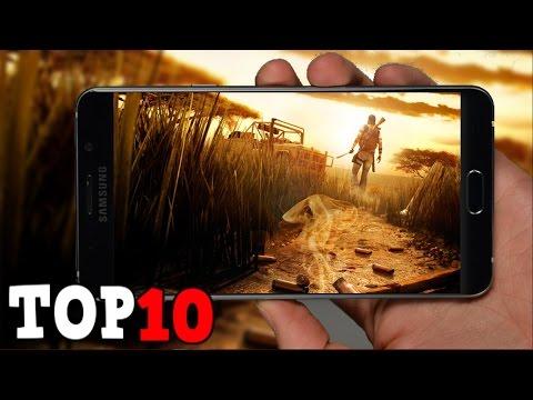 TOP 10 Juegos Para Android & iOS Con Mejores Gráficos