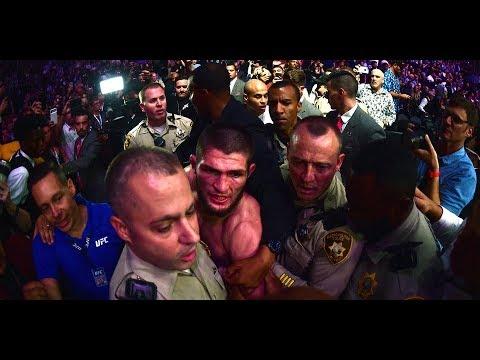 ДРАКА! UFC 229 КОНОР МАК-ГРЕГОР VS ХАБИБ НУРМАГОМЕДОВ  (Conor McGregor - Khabib Nurmagomedov)