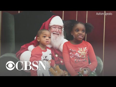 Bama, Rob & Heather - C'mon Get Happy: Malls Open Early So Kids With Autism Can Meet Santa!