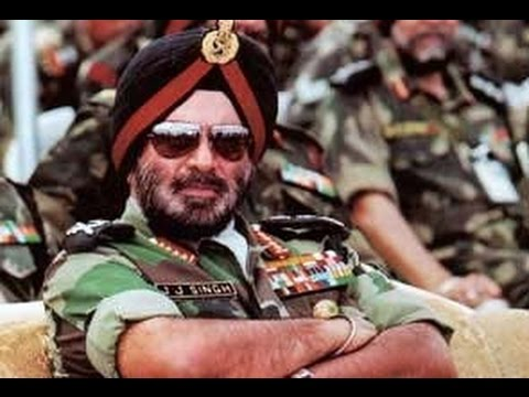 """Gen J J Singh - A soldier's General (Introduction)"" -  Guest in VYLC 2016"