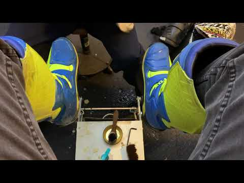 ASMR Motocross Boot Cleaning